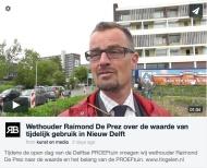 Wethouder Raimond De Prez over de waarde van tijdelijk gebruik in NieuwDelft